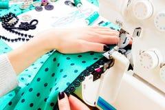 Concetto di cucito dressmaker fotografia stock