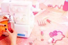 Concetto di cucito dressmaker immagine stock libera da diritti