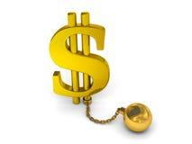 Concetto di debito illustrazione vettoriale