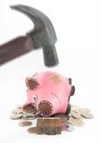 Concetto di debito Fotografie Stock