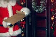Concetto di desideri di Natale fotografia stock libera da diritti