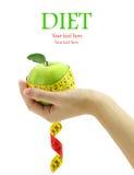 Concetto di dieta fotografia stock