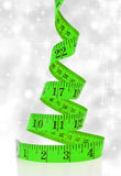 Concetto di dieta di Natale Fotografia Stock