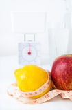 Concetto di dieta sana Fotografia Stock Libera da Diritti