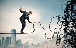 Concetto di difficoltà e di problema Immagine Stock Libera da Diritti