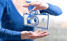 Concetto di divisione delle immagini fotografie stock