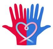 Concetto di donazione di sangue Immagine Stock