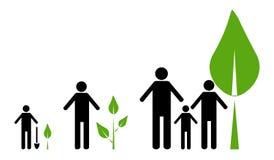 Concetto di Eco Immagine Stock