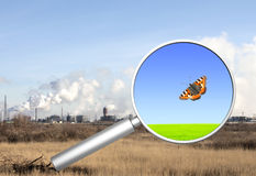 Concetto di ecologia royalty illustrazione gratis