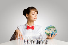Concetto di ecologia Immagine Stock