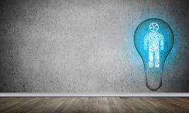 Concetto di efficaci innovazioni per l'umanità Immagini Stock