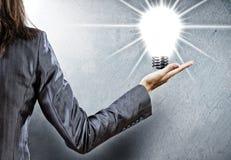 Concetto di energia Immagini Stock Libere da Diritti