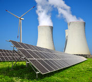 Concetto di energia Fotografia Stock Libera da Diritti