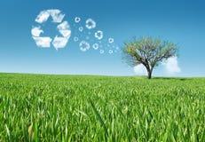Concetto di energia di Eco Fotografia Stock