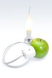 Concetto di energia di risparmio Fotografia Stock Libera da Diritti