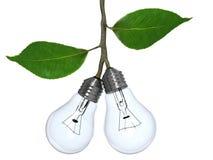 Concetto di energia rinnovabile Fotografie Stock