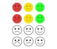 Concetto di esperienza utente o di feedback dei clienti Fotografie Stock Libere da Diritti