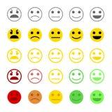 Concetto di esperienza utente o di feedback dei clienti Immagine Stock
