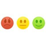 Concetto di esperienza utente o di feedback dei clienti Immagini Stock Libere da Diritti