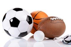Concetto di ESport - palle fotografie stock