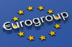 Concetto di Eurogruppo illustrazione di stock