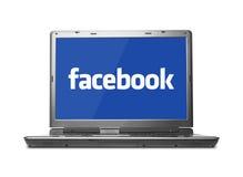 Concetto di Facebook Immagini Stock Libere da Diritti