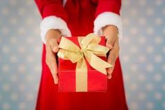 Concetto di festa di Natale Fotografia Stock Libera da Diritti