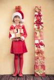 Concetto di festa di Natale Immagini Stock