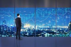 Concetto di finanza e commerciale immagini stock