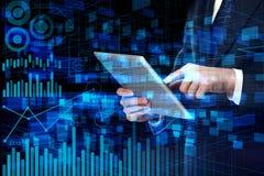 Concetto di finanza e dell'innovazione Fotografia Stock