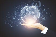 Concetto di finanza e dell'innovazione Immagine Stock