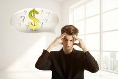 Concetto di finanze Fotografie Stock Libere da Diritti