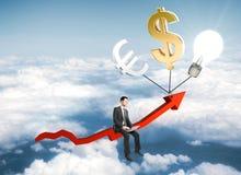 Concetto di finanze Fotografia Stock