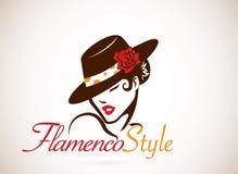 Concetto di flamenco Fotografie Stock