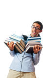 Concetto di formazione con l'allievo Immagine Stock
