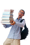 Concetto di formazione con l'allievo Immagini Stock