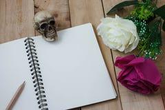 Concetto di fotografia di natura morta dalla nota di memoria Fotografia Stock Libera da Diritti