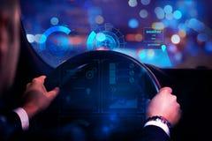 Concetto di futuro e del trasporto Immagini Stock Libere da Diritti