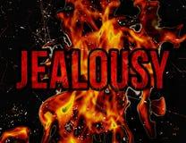Concetto di gelosia Immagine Stock Libera da Diritti
