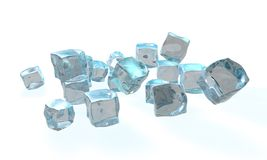 Concetto di ghiaccio Immagini Stock Libere da Diritti