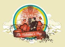 Concetto di giorno del biglietto di S. Valentino (no.7) Immagini Stock