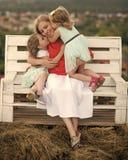 Concetto di giorno di madri Immagine Stock Libera da Diritti