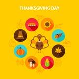 Concetto di giorno di ringraziamento Fotografia Stock