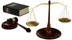 Concetto di giustizia Immagini Stock