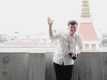 Concetto di gradutation e dello studente da boy20s asiatico a 30s con Fotografia Stock