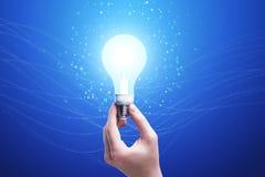 Concetto di idea della lampadina Immagine Stock Libera da Diritti