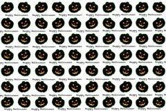 Concetto di idea di celebrazione di festa del fondo del modello di Halloween Immagini Stock