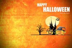 Concetto di idea di celebrazione di festa del fondo di Halloween Immagine Stock Libera da Diritti