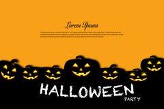 Concetto di idea di celebrazione di festa del fondo di Halloween Fotografia Stock