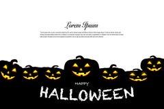 Concetto di idea di celebrazione di festa del fondo di Halloween Fotografie Stock
